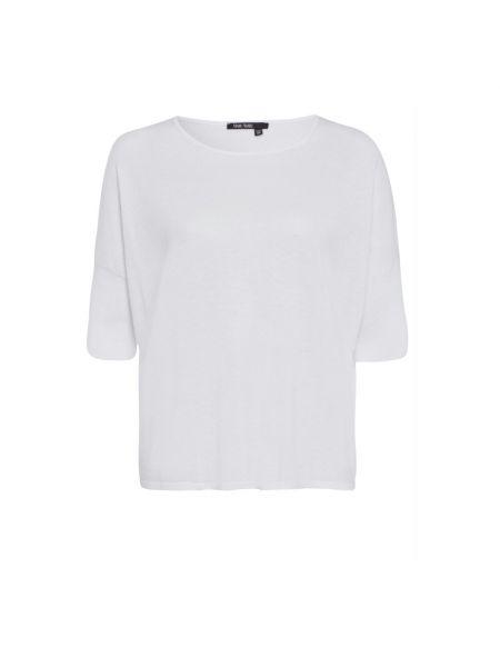 Biała koszulka z kapturem Marc Aurel