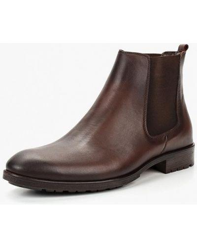 Ботинки челси кожаные осенние Tamboga