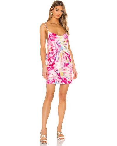 Розовое платье свободного кроя с подкладкой Flynn Skye