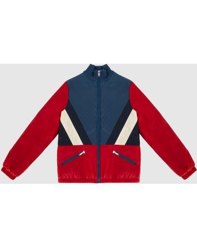Красная куртка Gucci