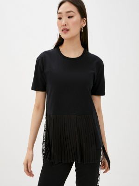Футбольная черная футболка Blugirl Folies