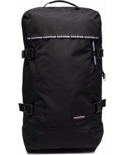 Черная сумка среднего размера на молнии с карманами Eastpak