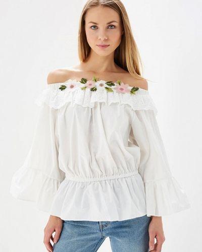 Белая блузка Brigitte Bardot