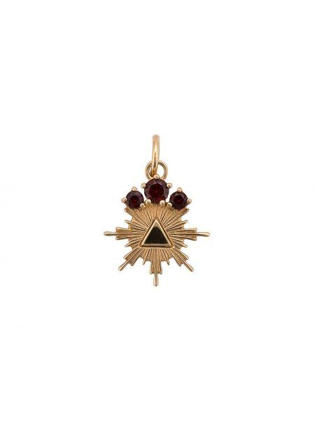 Золотистое желтое ожерелье Foundrae
