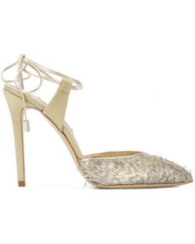 Кожаные туфли Olgana