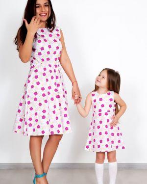 Платье с цветочным принтом платье-сарафан Lika Dress