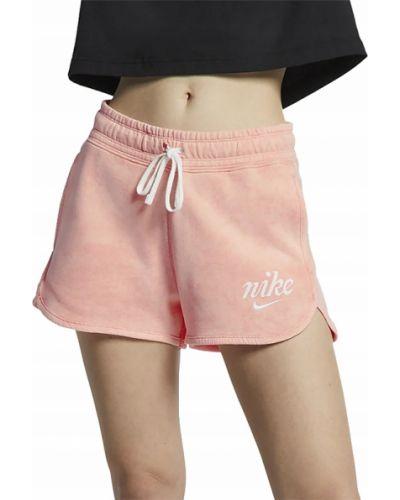 Bawełna bawełna różowy krótkie szorty Nike