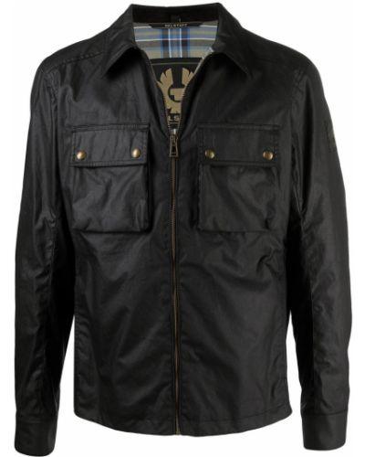 Czarna kurtka bawełniana Belstaff