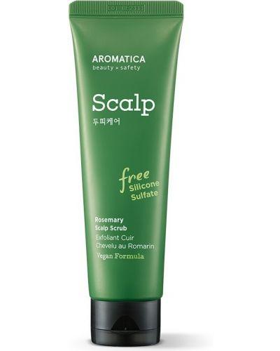 Кожаный пилинг для кожи головы Aromatica