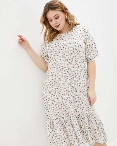 Повседневное белое платье Prewoman