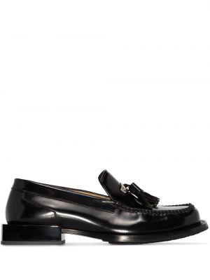 Loafers na obcasie - czarne Eytys