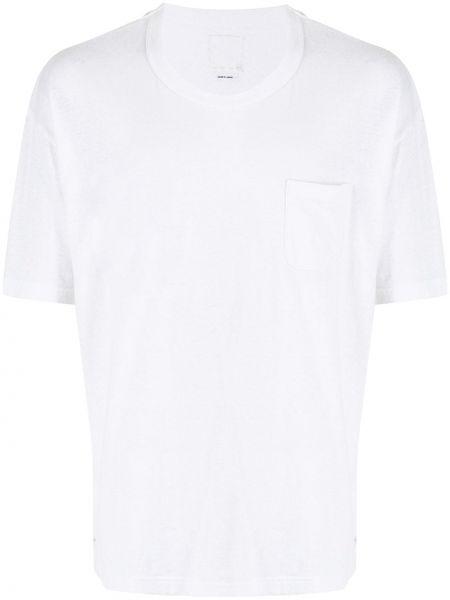Biała t-shirt bawełniana Visvim