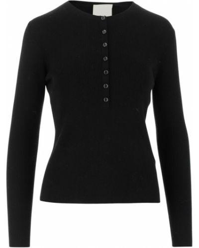 Czarny sweter wełniany Allude