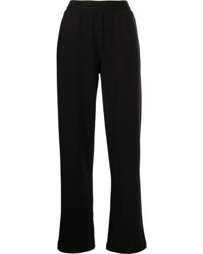 Czarne spodnie z wysokim stanem Alo Yoga
