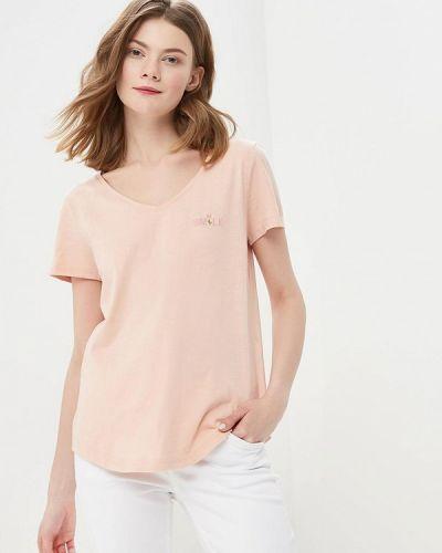 Розовая футболка Tom Tailor
