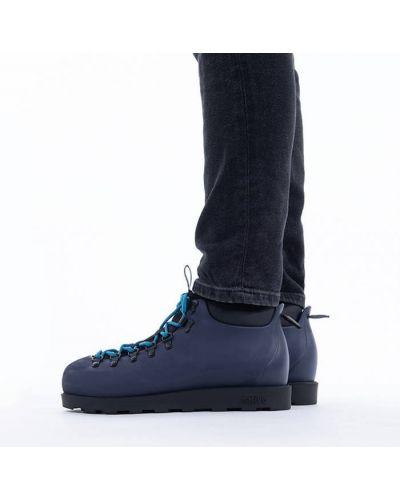 Текстильные черные ботинки Native