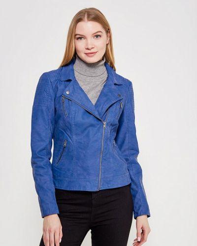 Синяя куртка весенняя Only