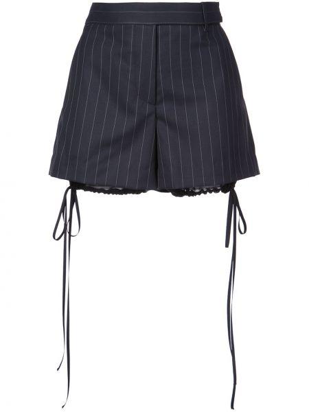 Однобортные шорты с карманами Vera Wang