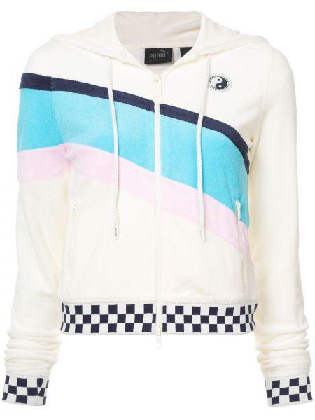 Хлопковая куртка - белая Fenty X Puma