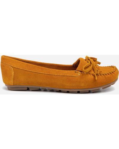 Желтые мокасины Lasocki