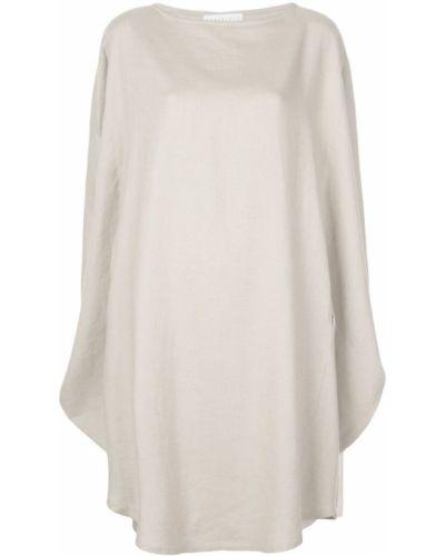 Свободное льняное платье макси The Celect