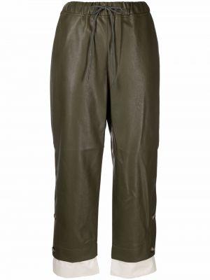 Zielone spodnie bawełniane Rejina Pyo