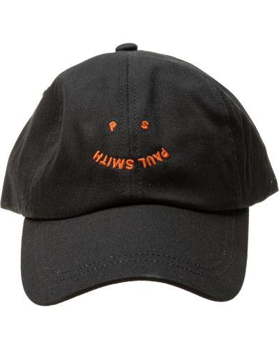 Czarna czapka Paul Smith