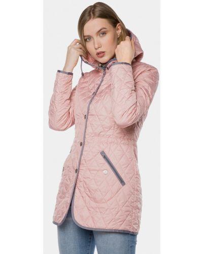 Розовая утепленная куртка Mr520