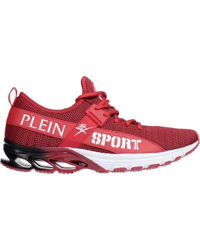 Красные кроссовки Plein Sport
