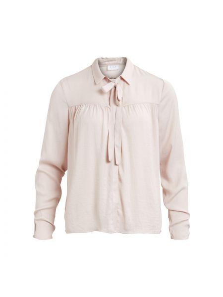 Рубашка с длинным рукавом с бантом с галстуком Vila