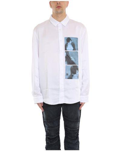 Satynowa biała koszula Misbhv
