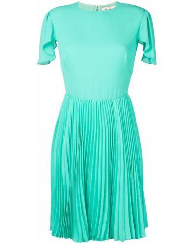 Платье мини короткое - зеленое Mulberry