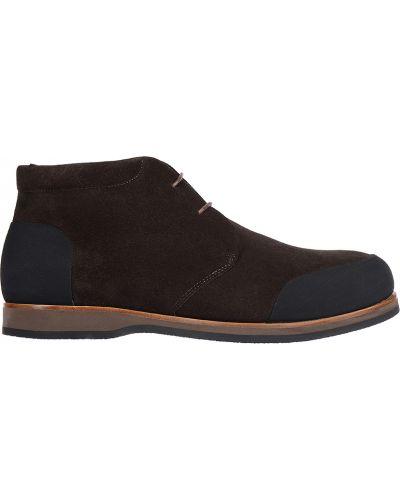 Кожаные ботинки замшевые осенние Zonkey Boot