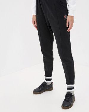 Черные классические брюки с карманами Reebok Classic