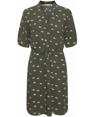 Tunika boho - zielona Inwear