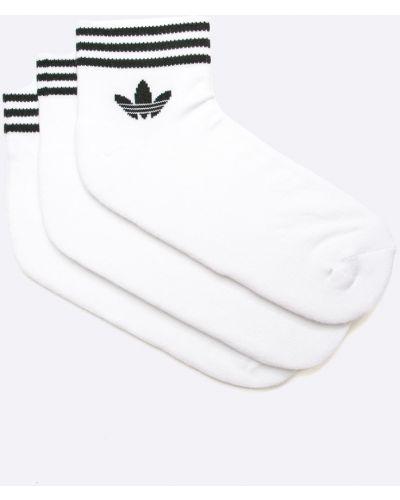 Белый носки набор Adidas Originals