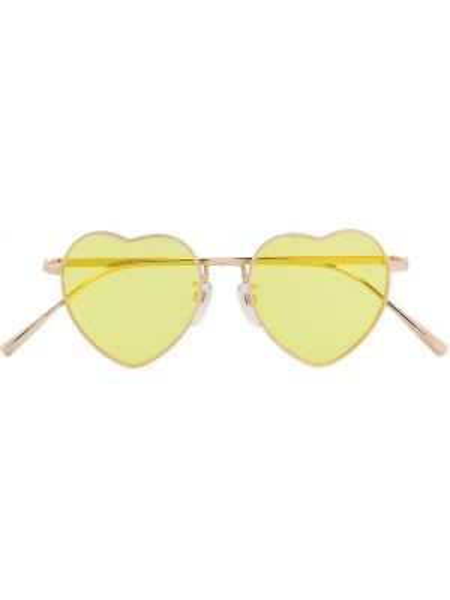 Złote żółte okulary Undercover