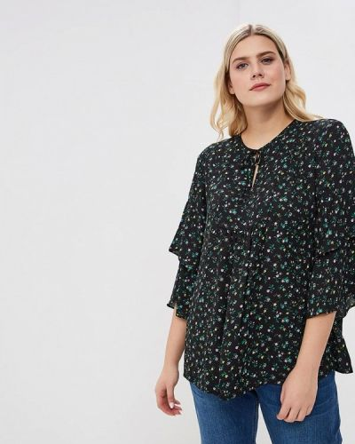 Блузка с длинным рукавом для беременных черная Gap Maternity