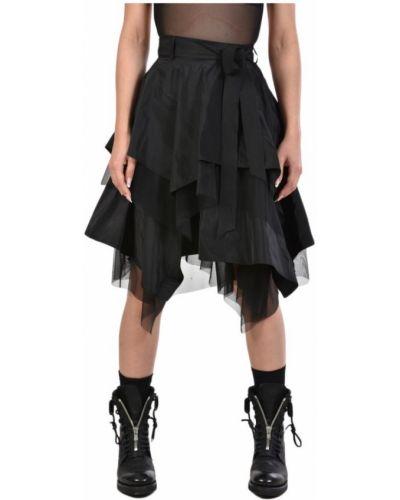 Spódnica mini tiulowa asymetryczna z paskiem La Haine Inside Us