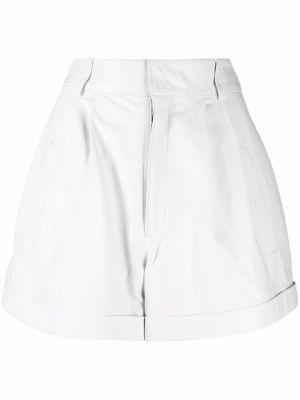 Белые шорты из полиэстера Manokhi