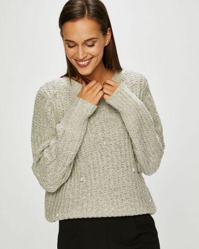 Вязаный свитер с узором трикотажный Vero Moda