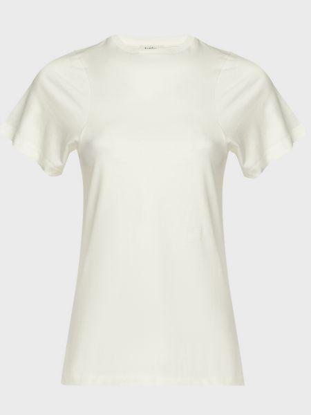 Хлопковая футболка - белая Toteme