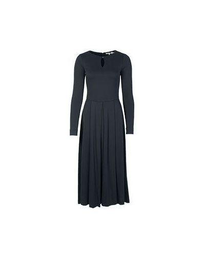 Шерстяное платье - черное Alter Ego