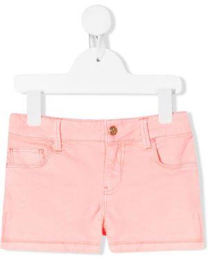 Розовые джинсовые шорты Billieblush