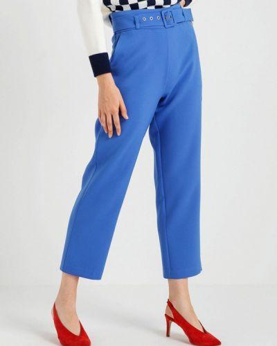 Голубые брюки повседневные Bgn