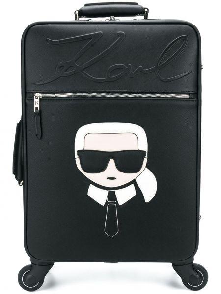Черный чемодан Karl Lagerfeld