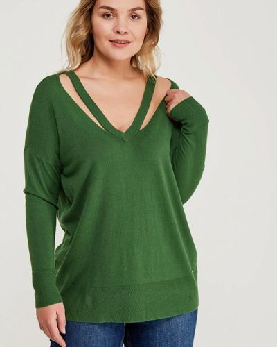 Зеленый пуловер Violeta By Mango