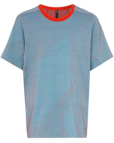 Синяя футболка Byborre