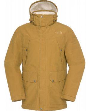 Куртка с капюшоном спортивная с манжетами The North Face