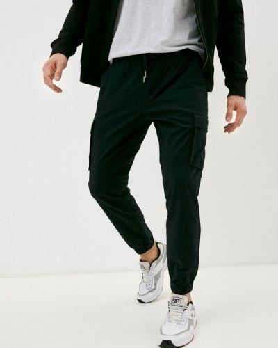 Черные брюки карго Gap